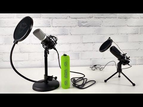 Дорогой и доступный микрофоны для Ютюбера и стримера. Тест моделей марки Trust / Арстайл /