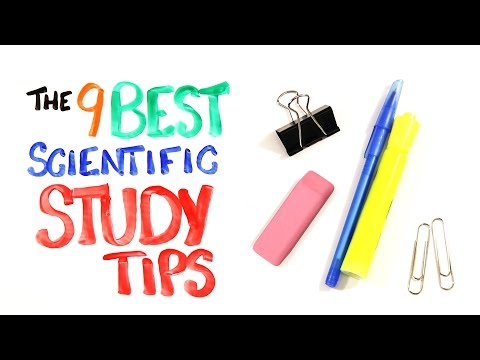 Download The 9 BEST Scientific Study Tips HD Video