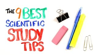 The 9 BEST Scientific Study Tips - Download this Video in MP3, M4A, WEBM, MP4, 3GP