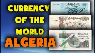 Currency of the world - Algeria. Algerian dinar. Exchange rates Algeria.Algerian banknotes