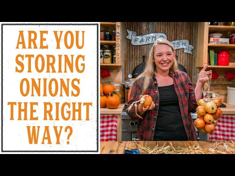 , title : 'How to Store Onions the RIGHT Way - No More Braiding Onions!