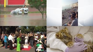 First News Today – Texas floods and Chemical haze (Monday 28 August 2017)