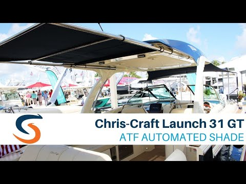 Chris-Craft Launch 31 GT Outboard video