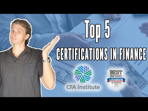 Top 5 Finance Certifications: CFA, MSF, CAIA, FRM, CFP, Career ...