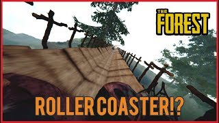 Cobain ROLLER COASTER Di Dunia KANIBAL!! #33 - The Forest Indonesia