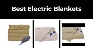 Best Electric Blankets in 2020