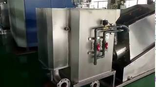 Volute sludge dewatering machine, MD screw press manufacturer