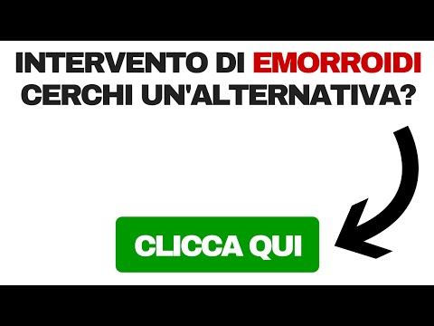 Emorroidi che bruciano in inforcature