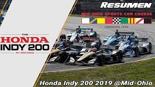 Resumen Honda Indy 200 2019 @Mid-Ohio - IndyCar Series