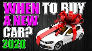 When to Buy a new car? 2020 | Reasons to buy a new car | why buy a new car vs used