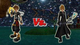 SSBB Wii U Modded Battles: Sora Vs Roxas {Requested by jeecomander23}