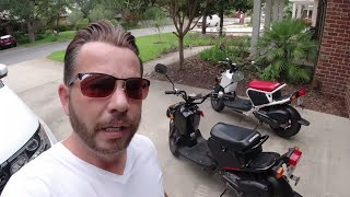 Taking Out The Honda Ruckus With A Hair Replacement or Hair System.  Will It Stay On?