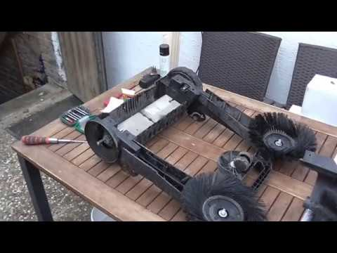 Kärcher Kehrmaschine S650 Antriebsriemen wechsel/tauschen - Change / replace drive belt