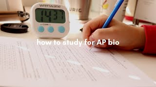 How To Study For AP Biology (2020 Exam Format, My Study Method, And Some Tips)