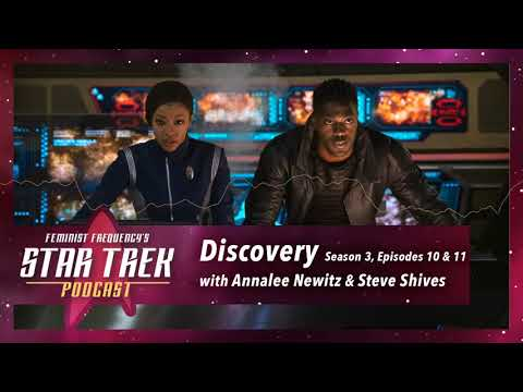 Feeling 'The Burn' with Annalee Newitz & Steve Shives    Discovery S03, E10 & 11