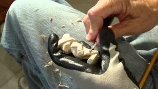 Carving The Minature Cowboy Part 2