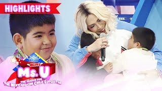 Carlo and Yorme wish for new cellphones from Vice | It's Showtime Mini Miss U