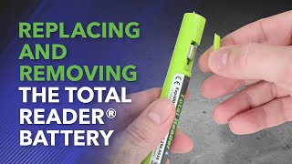 Rapid RH L6 Total Reader – How to Remove Battery
