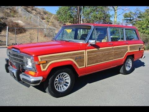 AMC Jeep Grand Wagoneer SJ Woodie Video Review