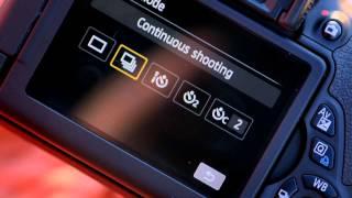 Continuous Shooting - Canon EOS 650D DSLR Camera Tutorial - Canon