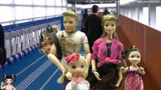 ChiChi ToysReview TV - Trò Chơi đưa các bạn búp bê trải nghiệm lần đầu tiên đi máy bay