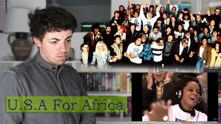 U.S.A For Africa - We Are The World | REACTION