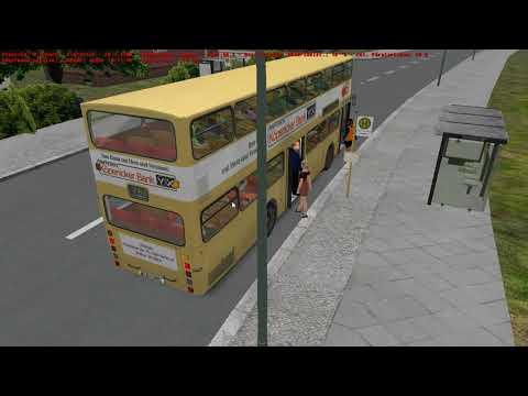OMSI] Betriebsfahrt: Berlin Route 5E, MAN SD200 (SD77, 2839
