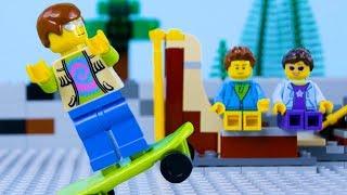 LEGO City Skate Park FailSTOP MOTION LEGO Arcade Fail Part 2   LEGO City   By Billy Bricks