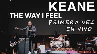 Keane The Way I Feel - New single en vivo desde el Festival Northside