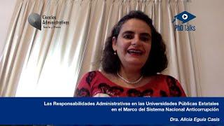 Las Responsabilidades Administrativas en las Universidades en el Marco del Sistema Anticorrupción