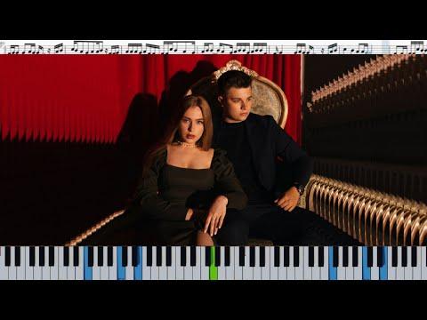 Гербер - Уляля (кавер на пианино + ноты)