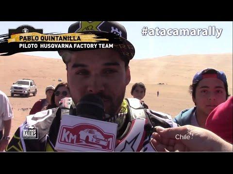 2016 FIM Cross-Country Rallies World Championship - Atacama Rally (CHL) - Clip 6