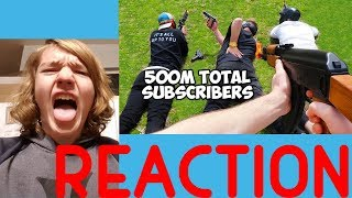 $200,000 Youtuber Airsoft Battle Royale REACTION!!!