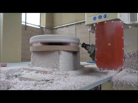 CNC μηχανή φρεζομηχανή KIMLA 4080 5 OSI 2015