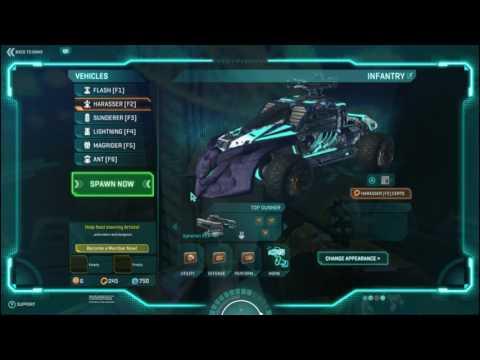 Harasser loadout For Planetside 2