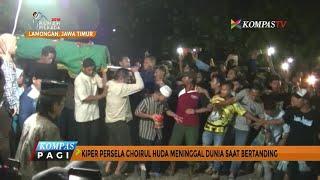 Suasana Pemakaman Kiper Persela Choirul Huda, Manajemen Akan Museumkan Nomor Punggung Almarhum