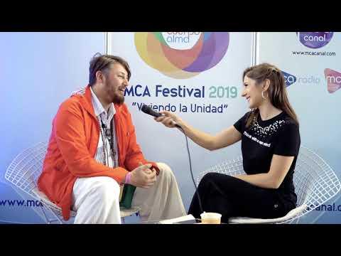 Entrevista a Claudio Ortega en MCA Festival 2019