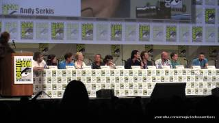 Люк Эванс, The Hobbit: The Battle of the Five Armies panel, SDCC 2014