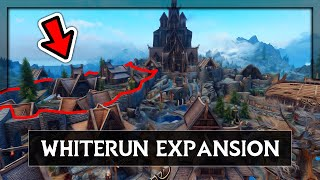 Skyrim Mods - WHITERUN LOOKS LIKE REAL LIFE TOWN - Capital Whiterun Expansion