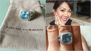 David Yurman Albion Ring Review (blue Topaz)