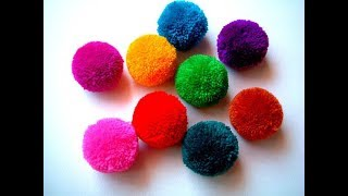 How to make pom pom easily with wool