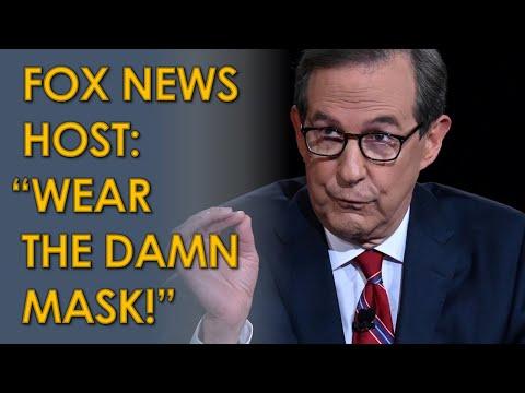 """Fox News Host Chris Wallace: """"Wear the Damn Mask!"""""""