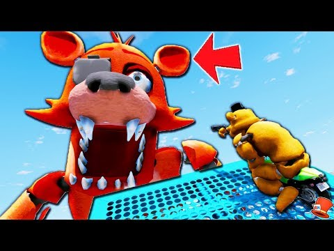 Freddy's Giant 9,999 foot Foxy Animatronic Deathrun Stunt