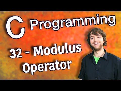 C Programming Tutorial 32 – Modulus Operator
