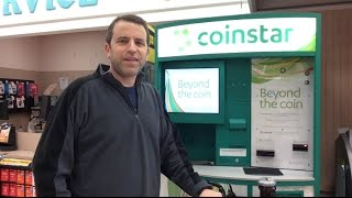 Coinstar Machine Experience WOW! AWESOME!