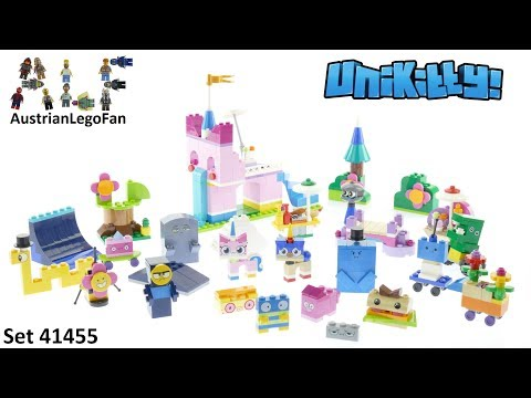 Lego Unikitty 41455 Unikingdom Creative Brick Box - Lego Speed Build Review