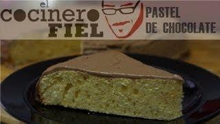 EL COCINERO FIEL #411 PASTEL DE CHOCOLATE (BIZCOCHO CON COBERTURA)