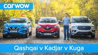 Nissan Qashqai Vs Renault Kadjar Vs Ford Kuga 2019 – See Which Is The Best Mid Size SUV