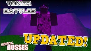 (UPDATED!) Tower Battles - ALL BOSSES! (ft. thekidoesmc)