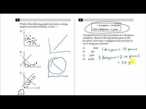 SAT Math Prep - With Calculator Practice Test 1 2019